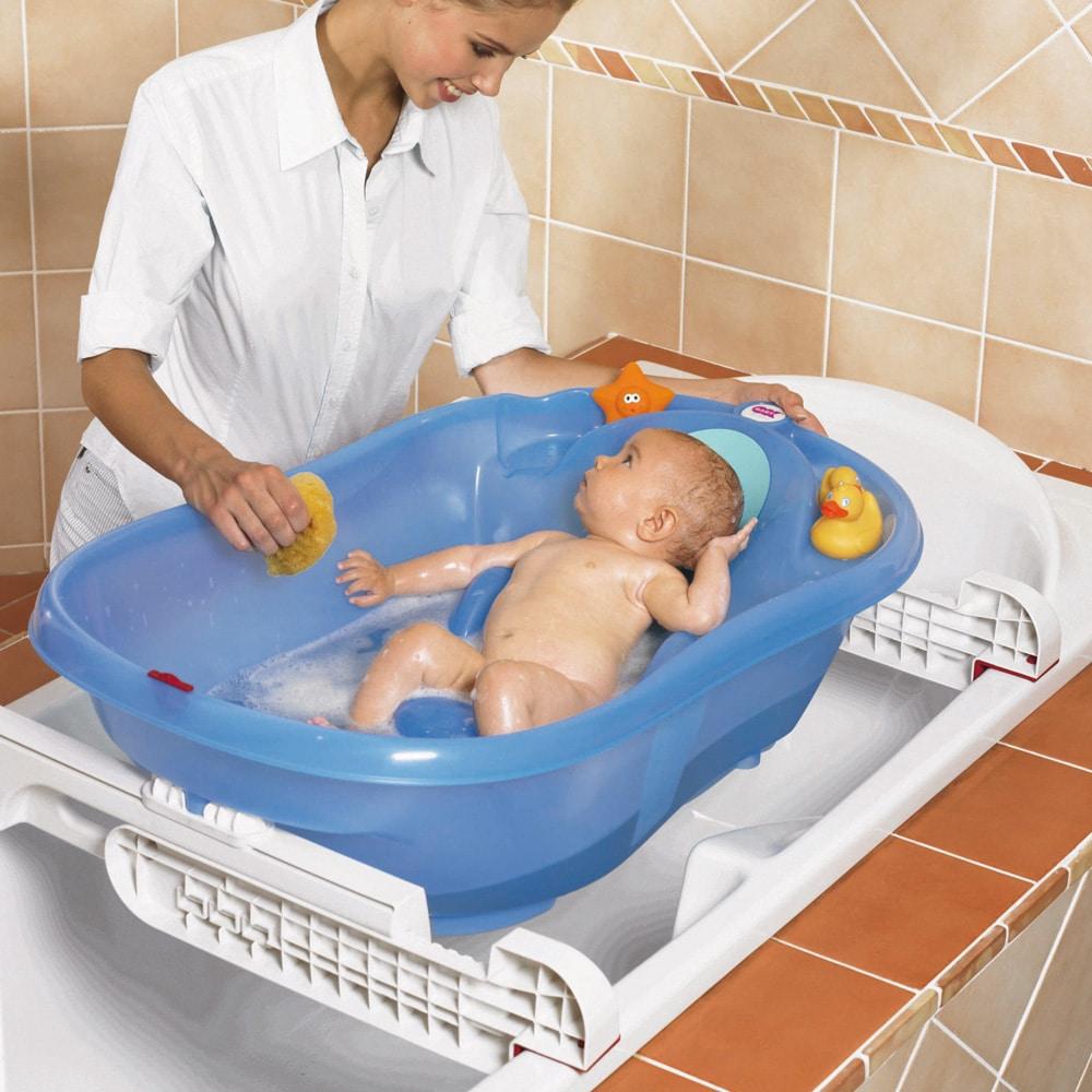 La baignoire id ale pour votre bambin le comptoir web - Temperature ideale pour chambre bebe ...