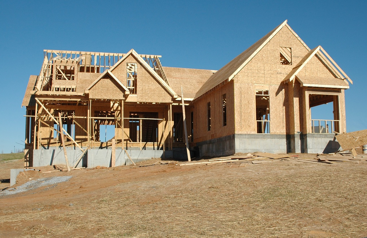 Ossature bois maison isolation du0027une maison ossature for Construire sa maison bbc