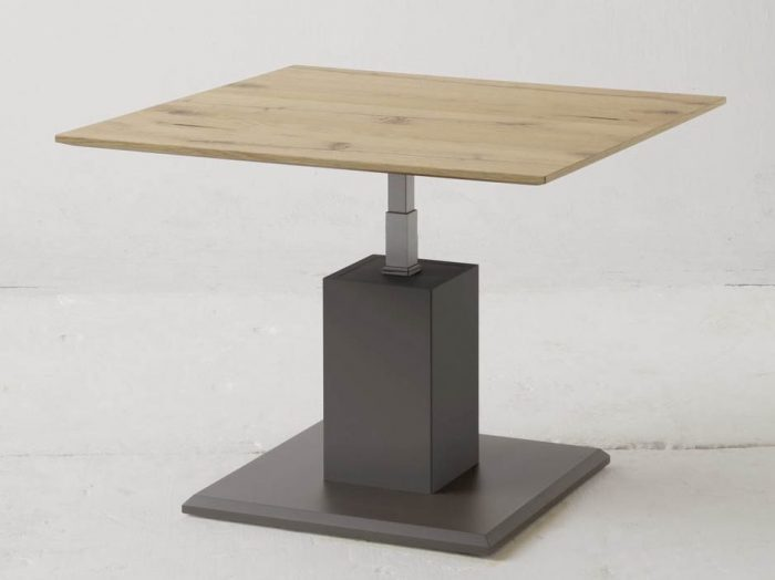 Table basse relevable un mobilier indispensable pour la - Table bois massif design ...