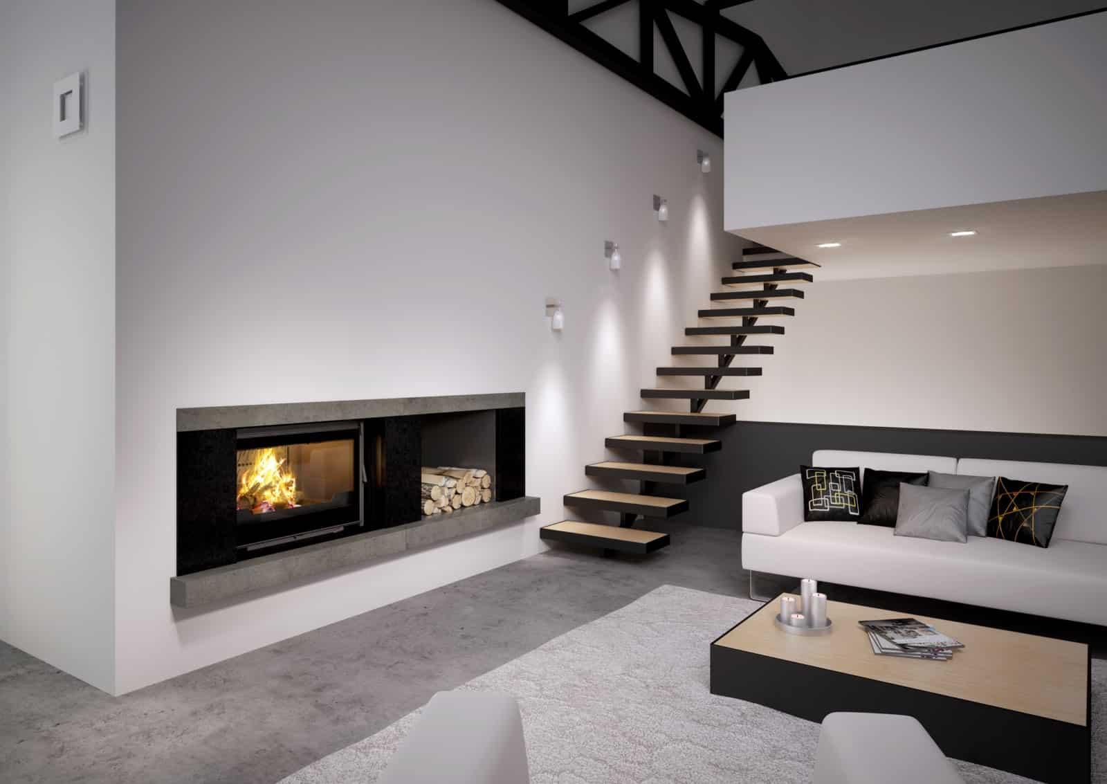 chemin e quelle surface de chauffage le comptoir web. Black Bedroom Furniture Sets. Home Design Ideas