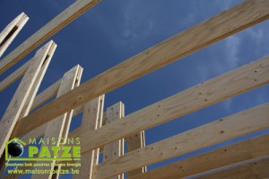 L 39 ossature bois une construction rapide et performante for Maison construction rapide