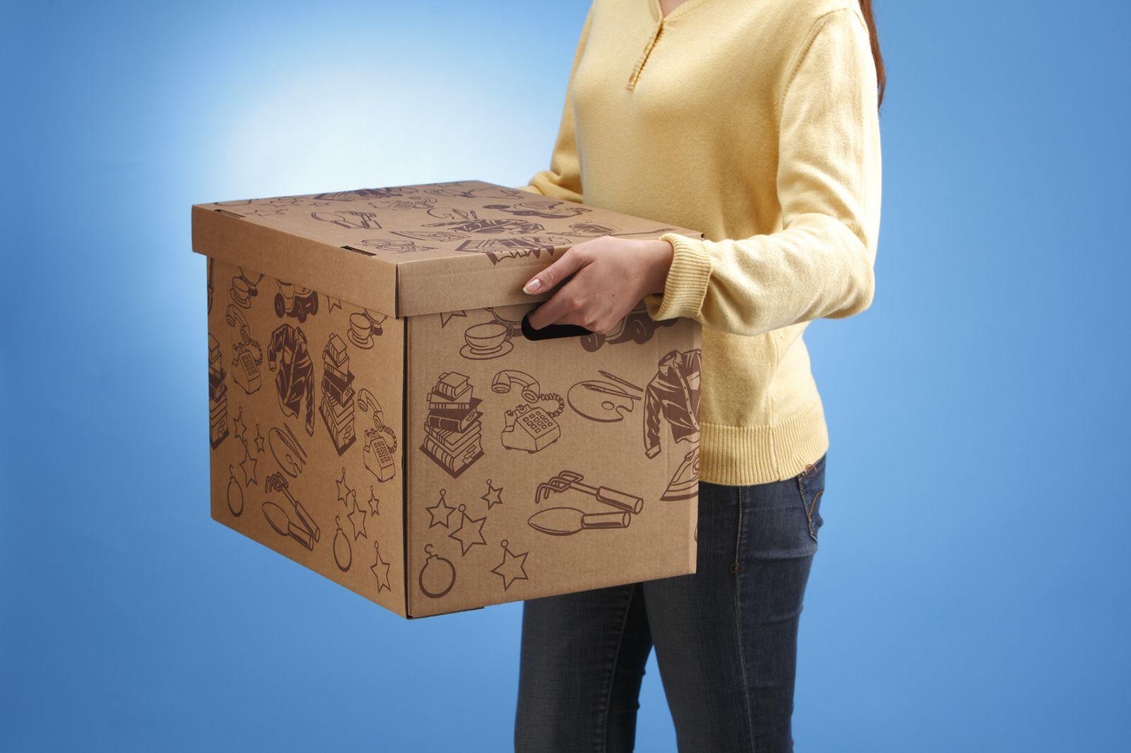 la bo te carton le choix parfait pour votre d m nagement le comptoir web. Black Bedroom Furniture Sets. Home Design Ideas