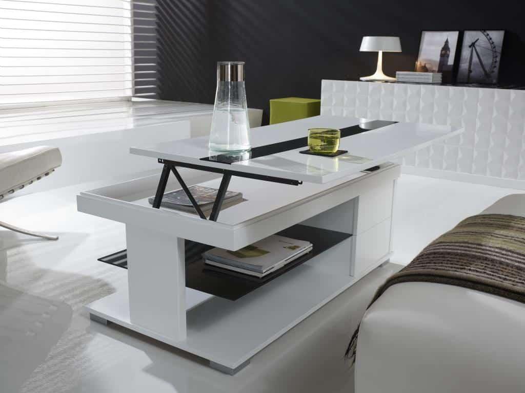 Table Basse Relevable Un Mobilier Indispensable Pour La