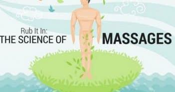 Salons de massage: quels bienfaits pour le massage? Statistiques et infographie.
