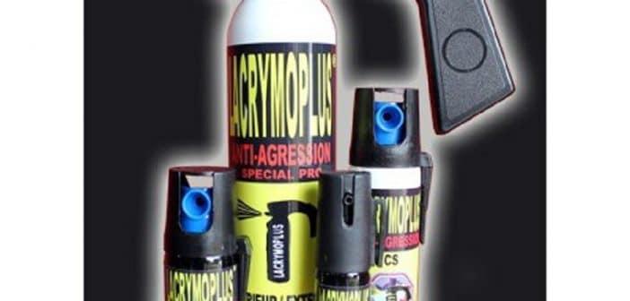 Bombe lacrymogène