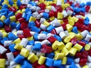 granulés plastique