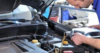 l'huile moteur