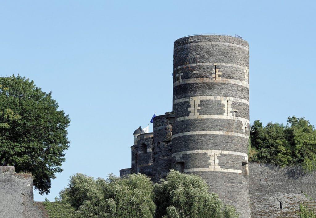 Un château à Angers