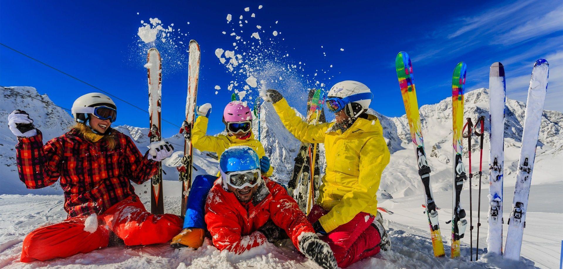 Le bonheur de passer des vacances au ski