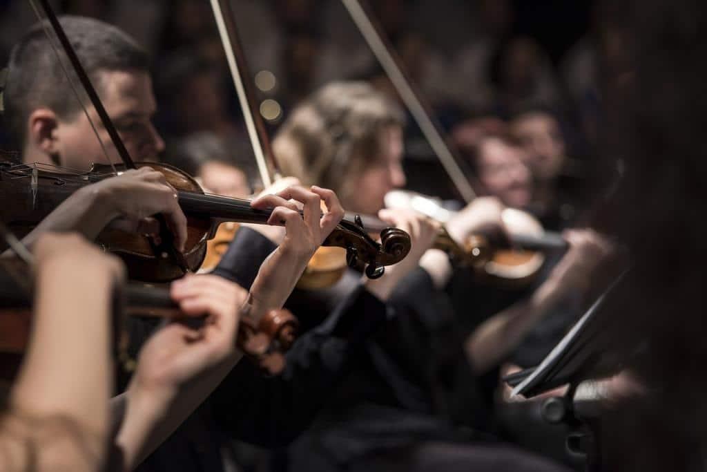 orchestre d'instruments à cordes frottées