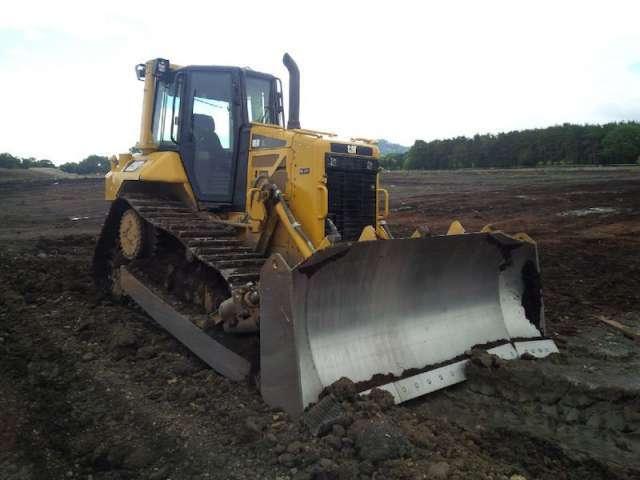 Un bulldozer sur votre chantier