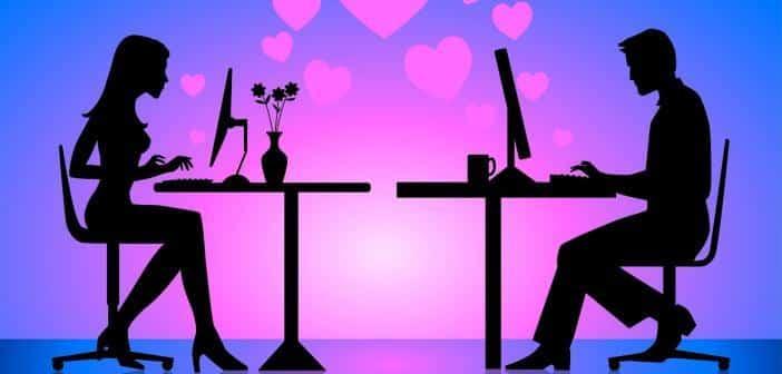 Trouver l'amour sur le net