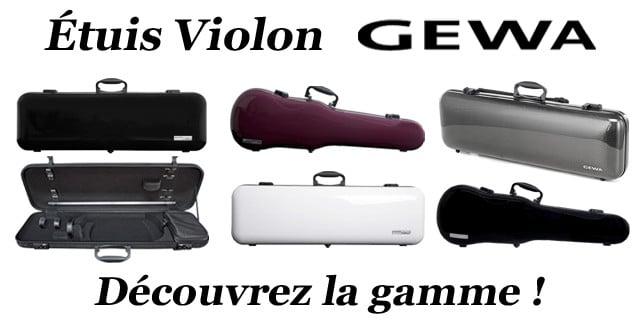 étuis à violons GEWA