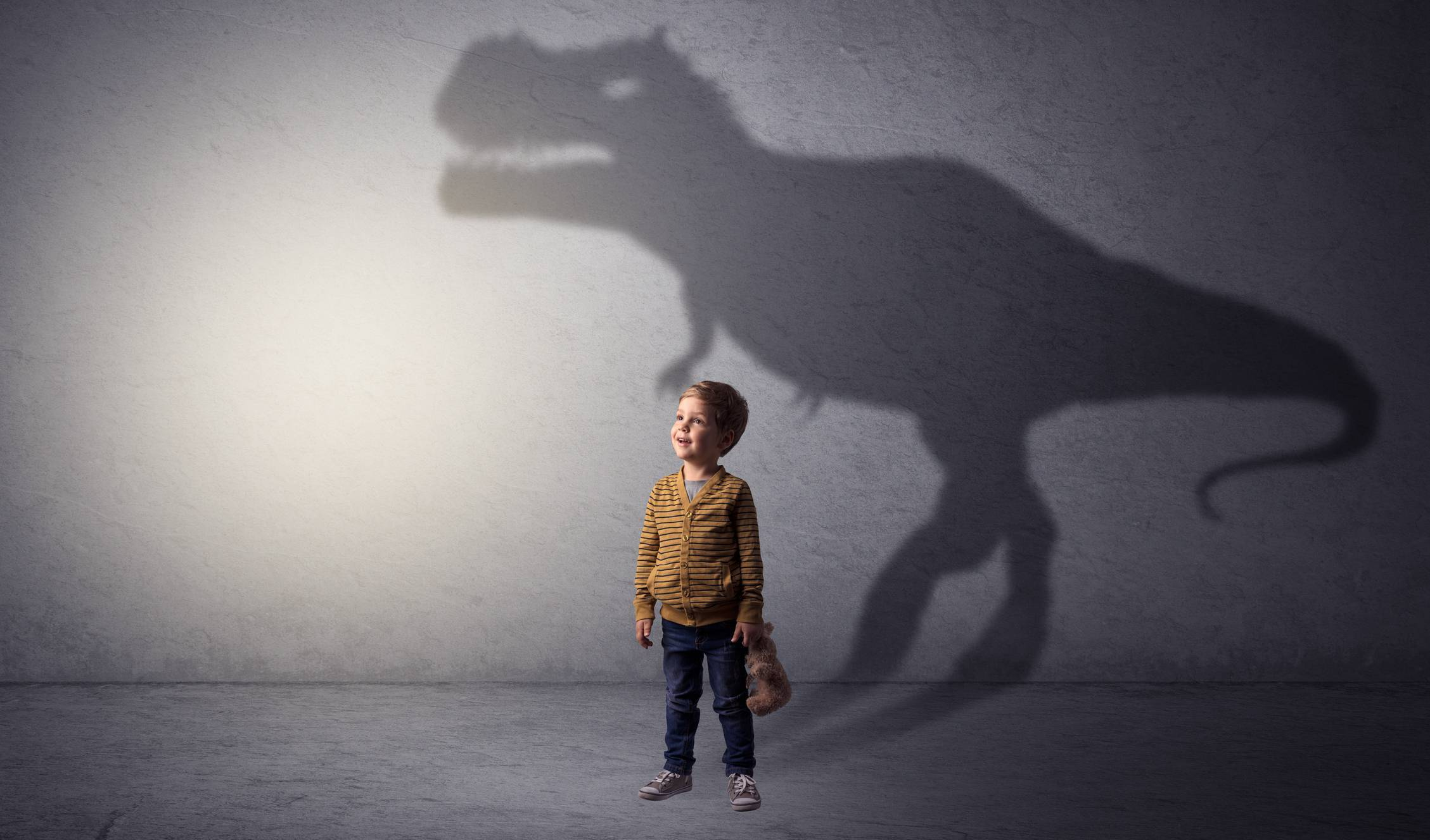 Enfant dinosaures