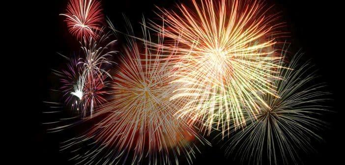 Un événement à organiser : pensez au feu d'artifice