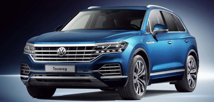 Volkswagen Touareg bleu